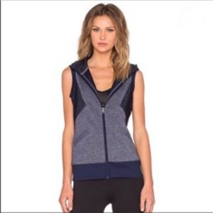 Lora Jane Uniquely Vest Size Medium Navy Blue